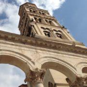 Dalmation Coast Tiebreaker-Split or Dubrovnik-Image of Diocletian Palace in Split