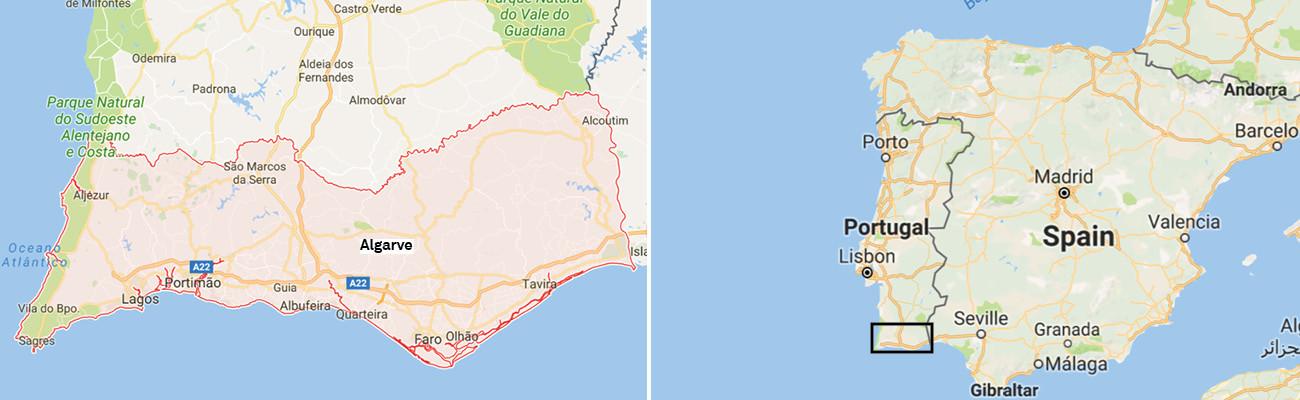 Algarve-Portugal-Maps-Itinerary