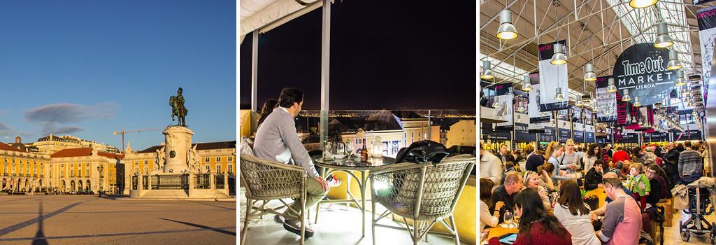 Arco-da-Rua-Augusta-Drinks-at-Barrio-Alta-Hotel-Bar-Time-Out-Market-Lisbon-3Panel-Itinerary