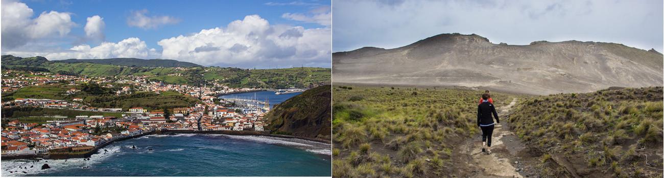 Faial-Azores-Islands-Portugal-View-of-Horta-and-Capelinhos-Volcano-2Panel-Itinerary