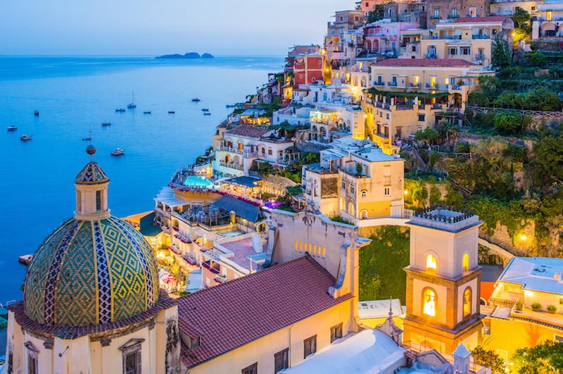 Positano-at-Night-Rooftops-Italy-Itinerary