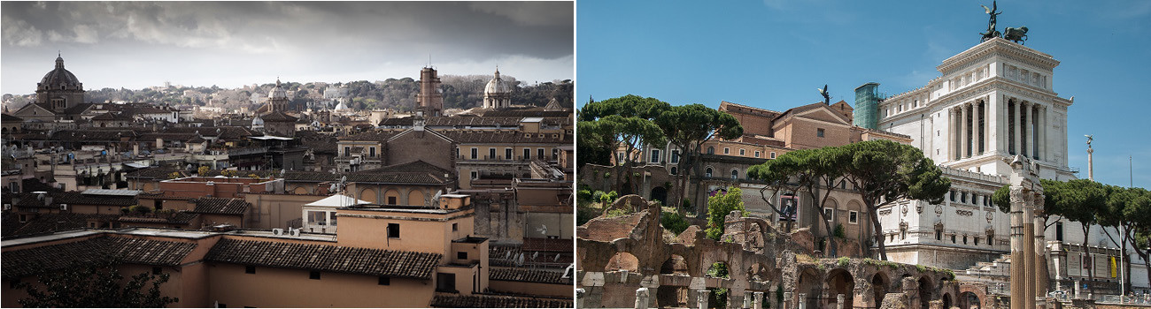 Rome-Italy-Sky-Line-and-Forum-2Panel-Itinerary