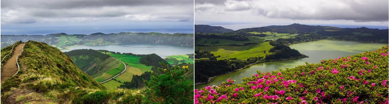 Sao-Miguel-Azores-Island-Sete-Cidades-and-Lagoa-das-Furnas-2Panel-Itinerary