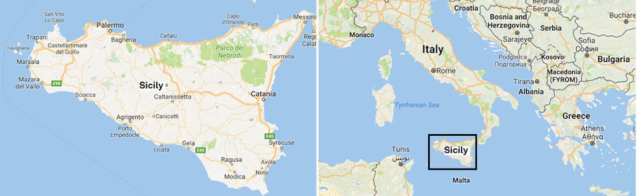 Sicily-Map-Itinerary-2Panel