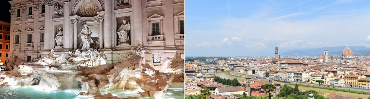 Trevi-Fountain-Rome-Italy-Meredith-View-of-Florence-Rachel-2Panel-Itinerary