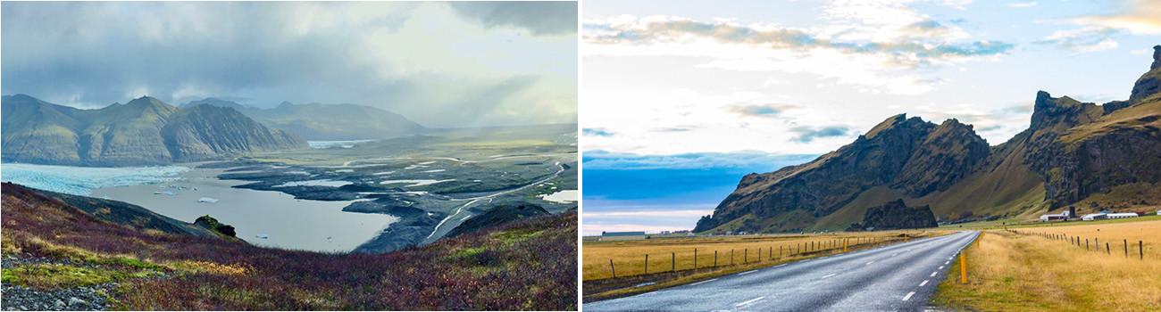 Sjonarnipa-Vatnajökull-Skaftafell-National Park-and-Ring-Road-in-South-Coast-Iceland-Itinerary-2Panel