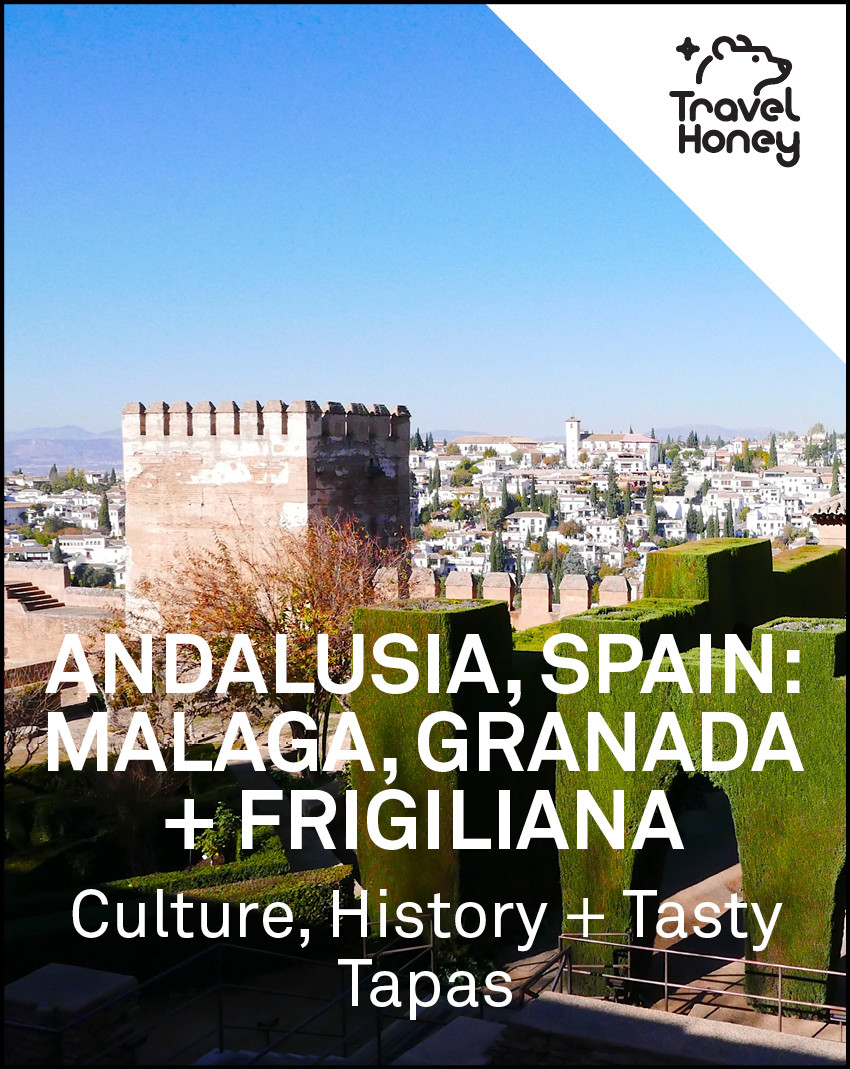 Andalusia Malaga Granada Frigiliana 4 Day Itinerary and Map