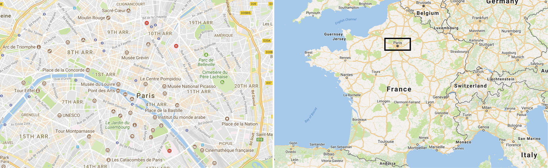 Map-Paris-France