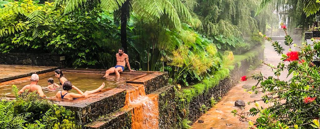 Poca da Dona Beija Hot Springs - Travel Honey Trips to the Azores