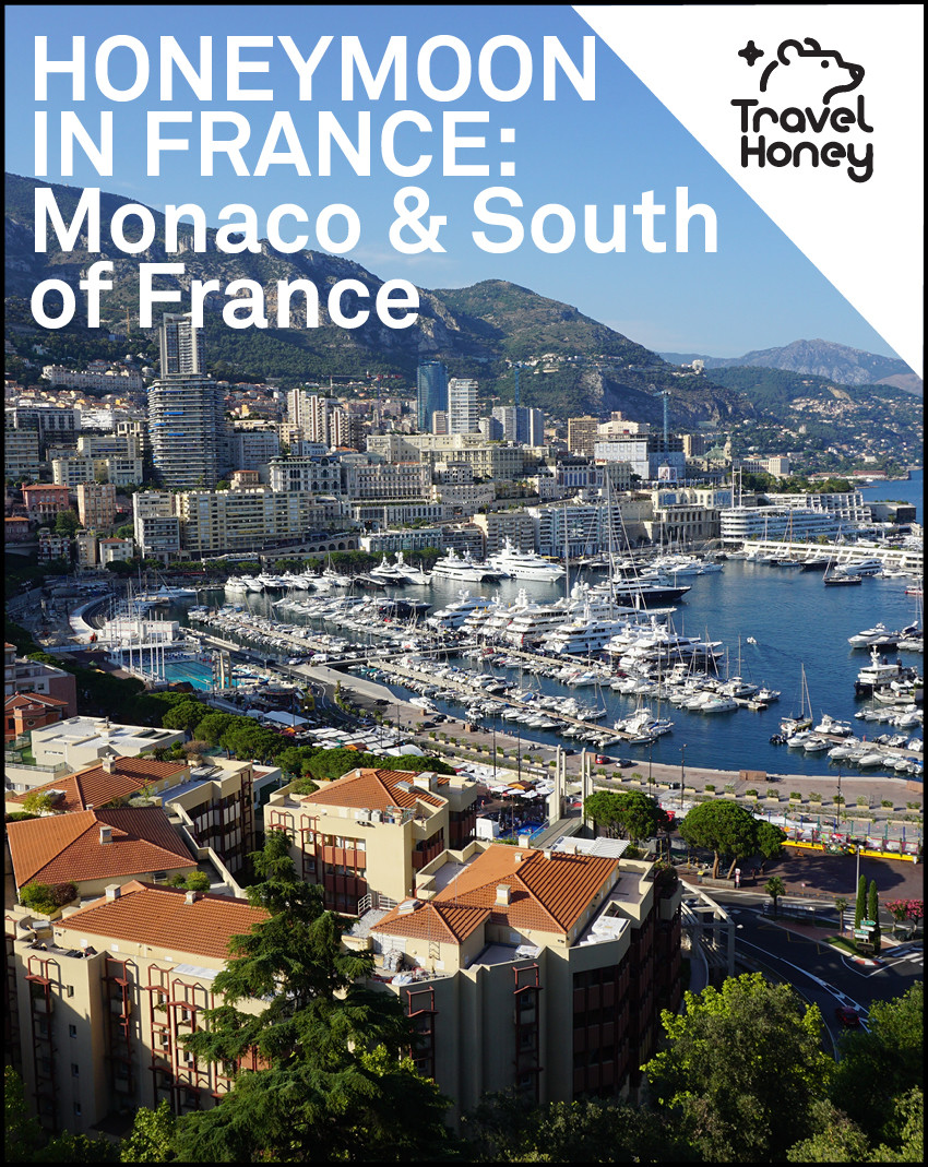 South Of France Cities Map.France Honeymoon Itinerary Map Monaco South Of France