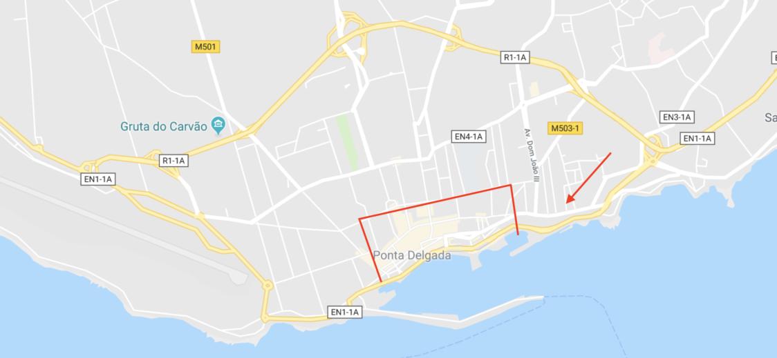 Ponta-Delgada-City-Center-Map