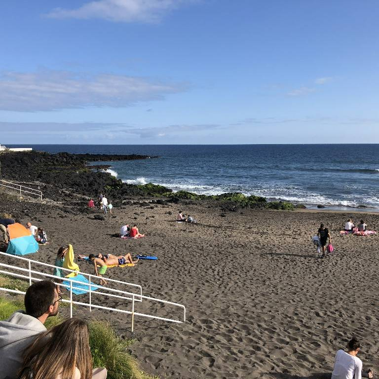 Populo Beach in Sao Miguel
