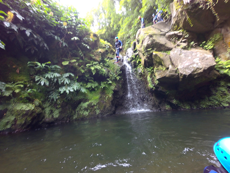 Canyoning-Sao-Miguel-Azores-Socially-Distanced-Activities